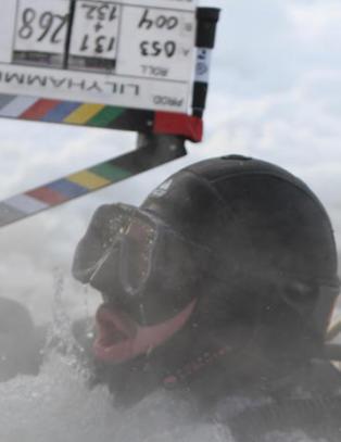 �Lilyhammer�-stjerna fikk problemer med oksygentanken under risikabelt stunt