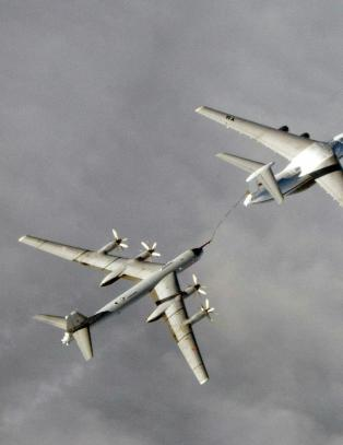 Flere russiske bombefly str�k forbi Norge og langt inn i Europa