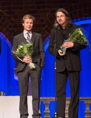 Nordisk r�ds barne- og ungdomslitteraturpris til H�kon �vre�s og �yvind Torseter