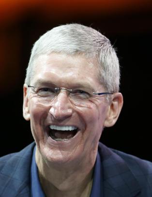 Apple-sjef Tim Cook: - At jeg er homofil er en av de st�rste gaver Gud har gitt meg