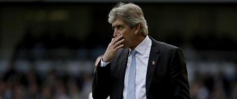 Pellegrini bekymret foran m�tet med United