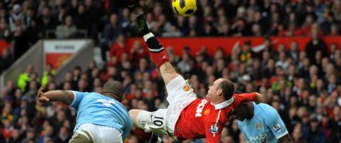 Scoret Rooney dette m�let med leggen?