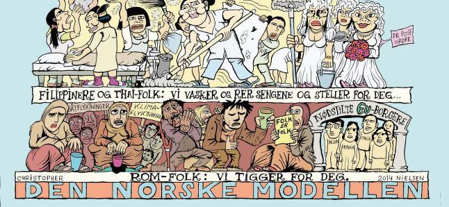 Klikk her for � se hvordan �Den norske modellen� egentlig er bygd opp