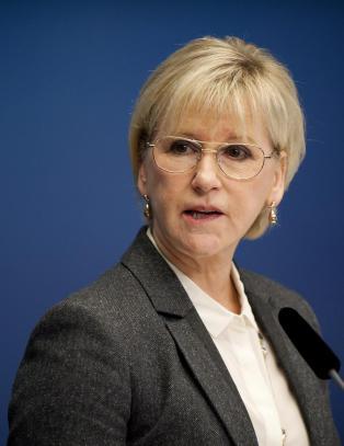 Sveriges regjering vedtar � anerkjenne Palestina som stat