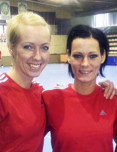 Katrine om gravid G�rbicz: - Jeg har l�rt henne opp