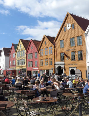 Varmeste �r siden vikingtiden i Bergen