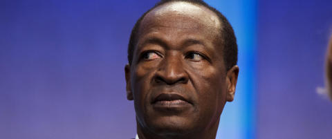 Han har styrt Burkina Faso i 27 �r: I dag m�tte han g� av