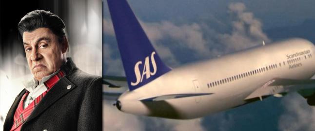 NRK ville fjerne denne flylogoen fra �Lilyhammer� - men ombestemte seg