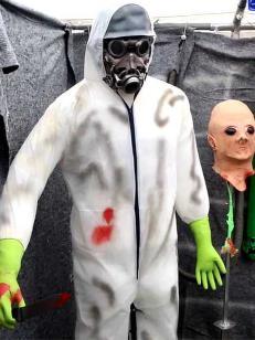 I �tte �r har K�re skremt vannet av norske barn p� Halloween