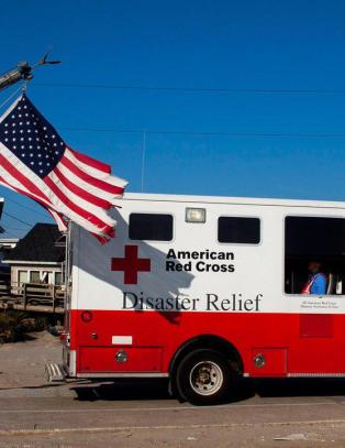 Gigantisk R�de Kors-skandale: 40 prosent av uttrykningene etter orkan var reklamegimmick
