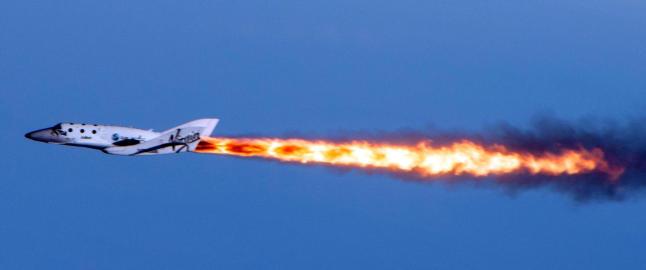 - Virgin-romskip skal ha krasjet under testflyvning