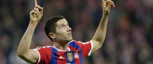 Lewandowski scoret mot gamle lagkamerater da Bayern vant Der Klassiker