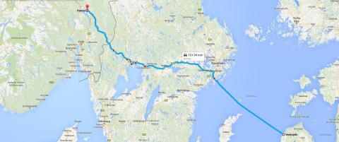 Varslet om stj�let vogntog fra Hamar - tatt i Latvia mindre enn ni timer etter