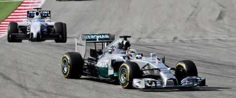 Lewis Hamilton med fem strake etter seier i USA