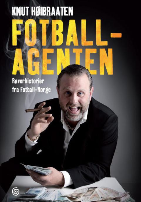 KONTROVERSENES OPPHAV: Knut H�ibraathen, hans forlagsredakt�r og forlaget blir n� saks�kt etter at H�ibraathen p�sto at fotballpresident Yngve Hall�n er korrupt i denne boka.