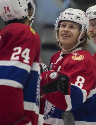 Hockeygutta med komfortabel 4-1-seier mot Latvia