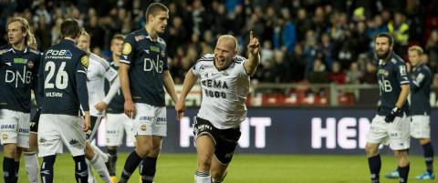Rosenborg ydmyket Str�msgodset og tok s�lvet