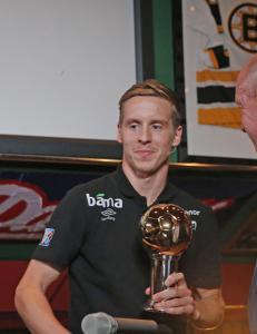 Stefan Johansen vant Gullballen som �rets norske fotballspiller