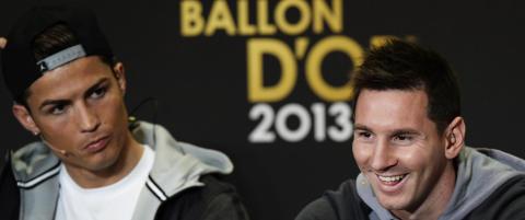 Sjekk hva Ronaldo kaller Messi blant lagkameratene