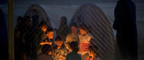 13 millioner p� flukt fra krig i Syria og Irak