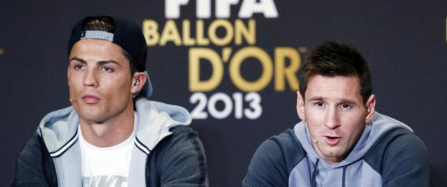 Ronaldo rykket ut p� Facebook etter p�stander om at han kaller Messi for �drittsekk�