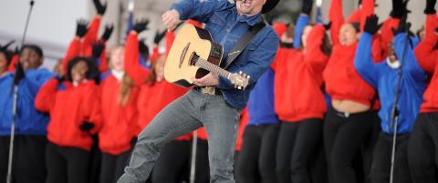 Countrymusikkens st�rste stjerne er tilbake