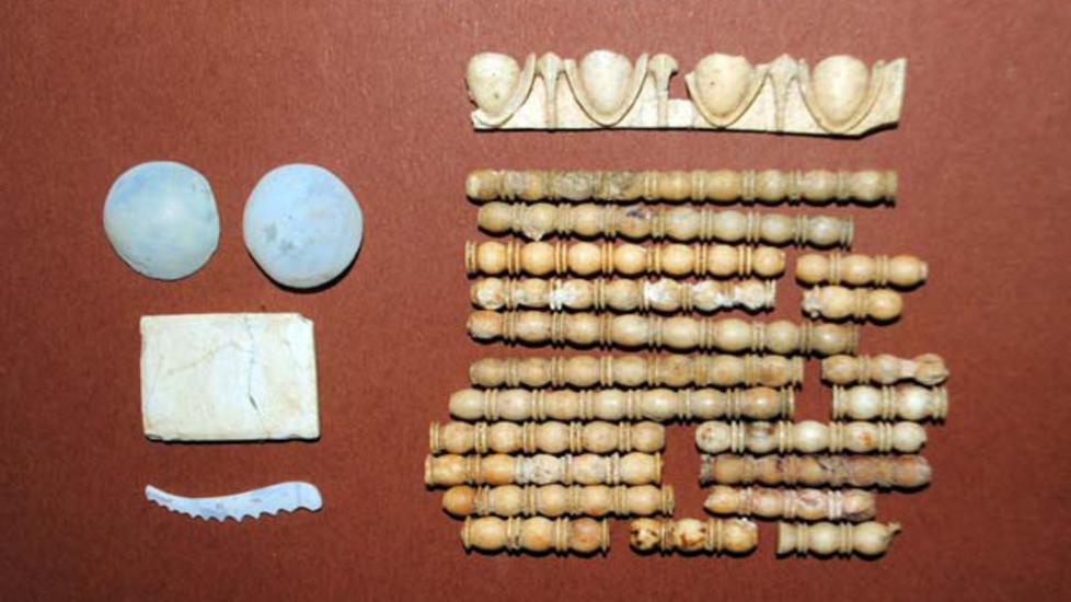 Gravlagt med marmor som ikke finnes i Makedonia