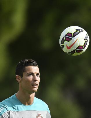 Ronaldo kommer tilbake i r�d drakt p� Old Trafford