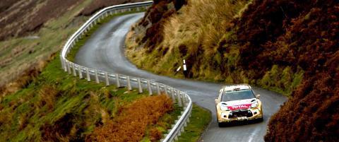 �stberg treer i Rally Wales