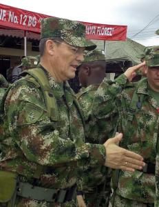 Tilfangetatt general stanser fredsforhandlingene i Colombia