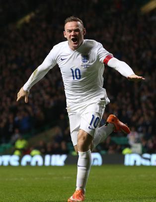 Rooney fire m�l fra � bli tidenes toppscorer for England