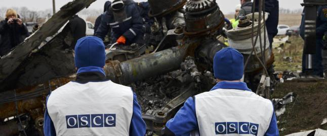 OSSE-observat�rer beskutt i Ukraina