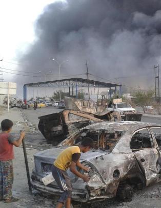 IS-leder drept i Irak