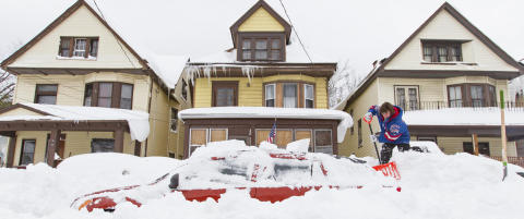 Amerikanere forbereder seg p� enda mer sn�