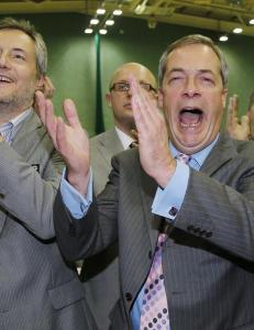 David Cameron fikk �den feite r�va� midt i fleisen