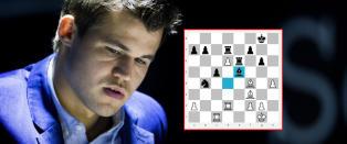 Carlsen ble �utrolig lettet� da Anand lot ham gj�re dette trekket