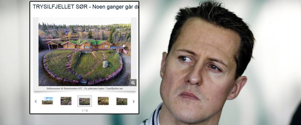 Michael Schumacher selger hytta i Trysil
