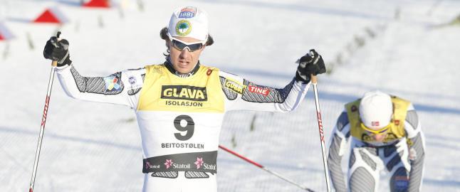 Mikko Kokslien spurtet inn til NM-gullet i kombinert