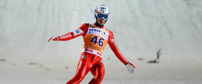 Fannemel med dagens lengste hopp da Norge m�tte ta til takke med tredjeplassen