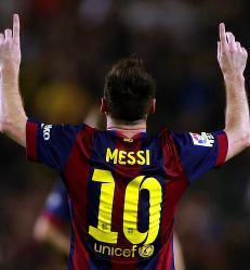 Messi tok rekorden med et hattrick