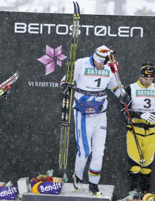 N� kan Petter trene videre mot VM med tro p� at han kan vinne.