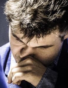 Her skj�nte Carlsen at Anand var knekt