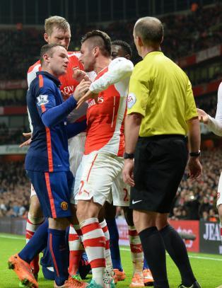 Arsenal-supporter dynket United-reservene i r�dvin