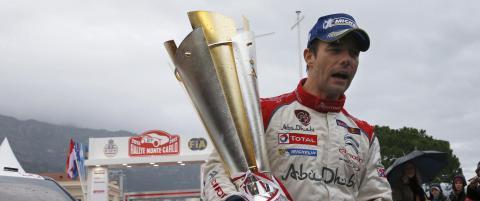 Sebastien Loeb gj�r rally-comeback