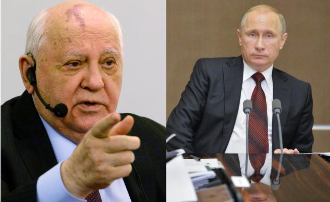 Gorbatsjov: - I Putins hode er det bare Gud som st�r over ham