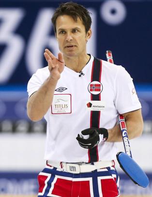 Tapte for Sverige i curling-EM