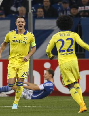 Chelsea med lynrask scoring da Schalke ble ydmyket