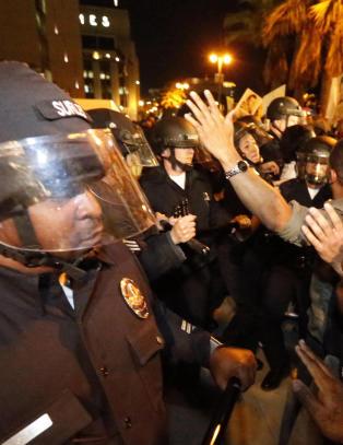 Protester i New York, Los Angeles, Atlanta, Baltimore, Chicago, Washington