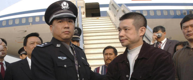 Kina jakter p� ��konomiske flyktninger� i USA
