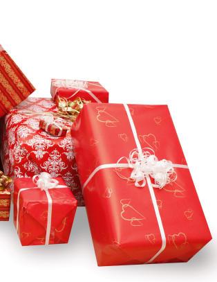 - Barna rekker ikke � glede seg over gaven f�r det er en ny pakke som skal �pnes